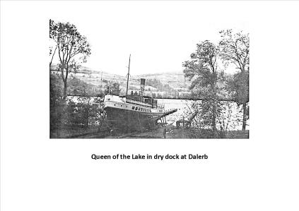 Queen of Loch in Dry Dock