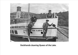 Queen of Loch Deckhands