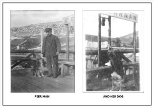 Pier Man's Dog Rings the Bell