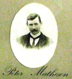 Peter Matheson, 2nd Batallion Black Watch