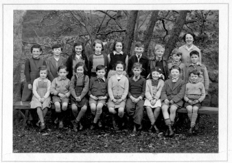 Fearnan School Pupils, Early 1950's