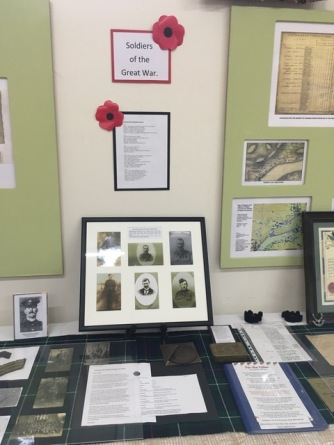 WW1 Display